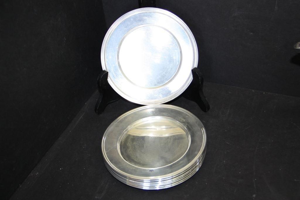 10: Sterling Silver Bon Bon Plates (6)