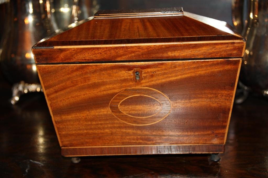 13: Tea Caddy 19th c.