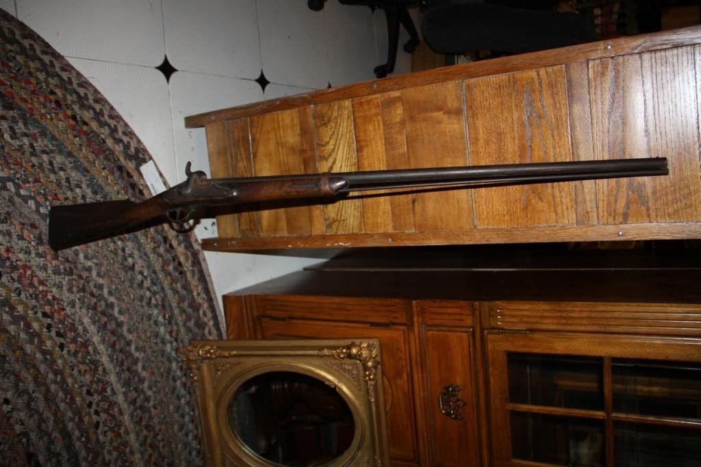 14: Antique Musket-Rifle 1809 Prussian Converted
