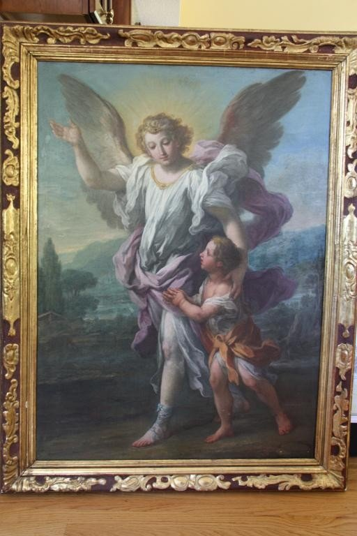 "41: Ignaz Stern  (1680 - 1748)  ""Angel  Custode"""