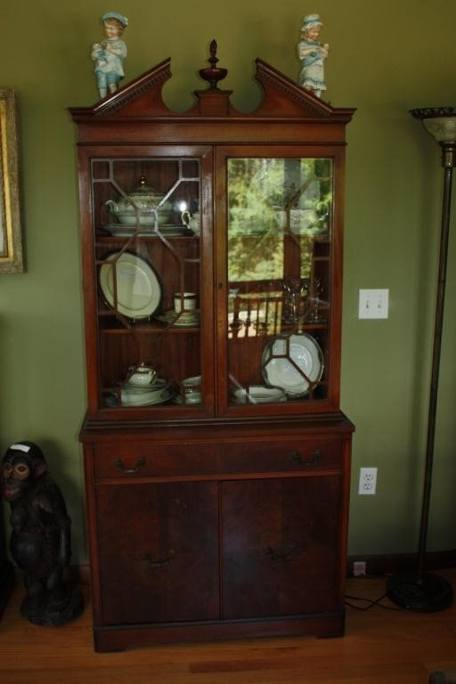 67: Huntley Furniture China Cabinet And Server