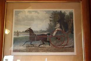Lady Hampton Print John Frederick Herring