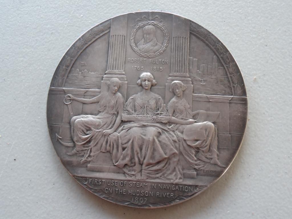 Medallion: Hudson-Fulton Celebration1909 Sterling