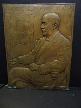 Bela Lyon Pratt (1867 - 1917) Portrait A. Agassiz
