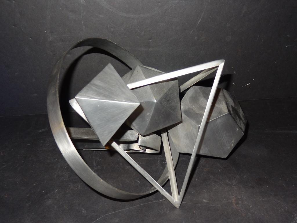 Igael Tumarkin  (1933 - ) Aluminum Sculpture