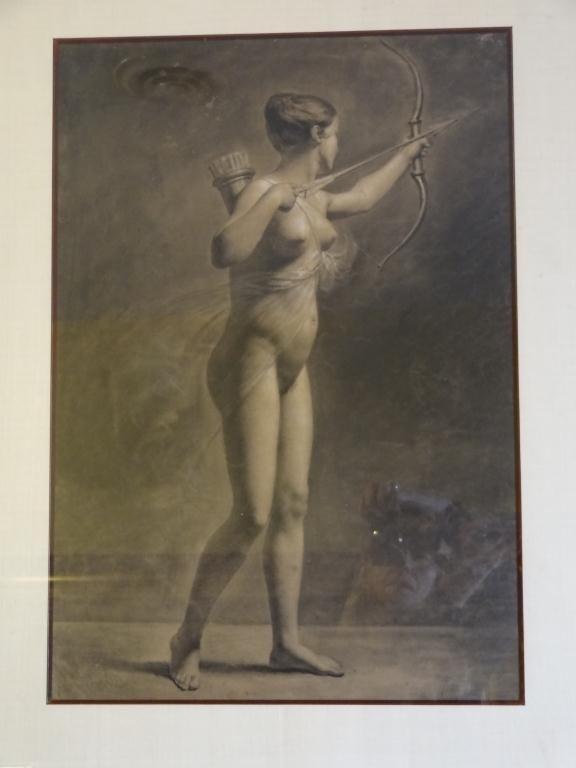 19th C. Portrait of Diana the Huntress