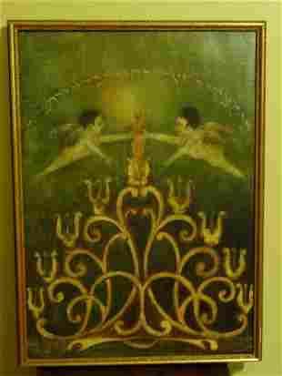 19th Century Judaic Painting