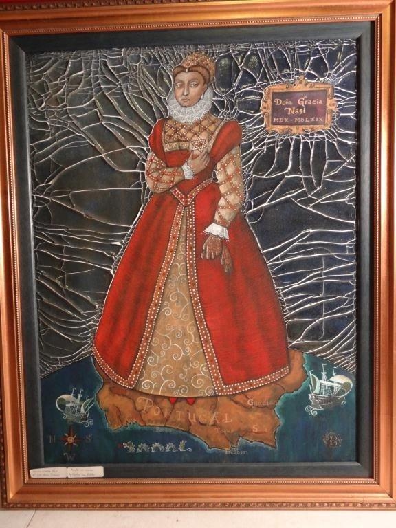 Cynthia Von Buhler  Portrait of Gracia Mendes Nasi