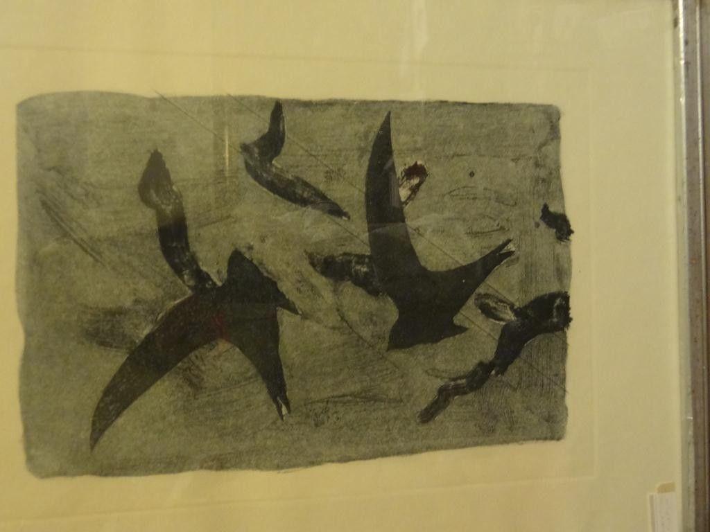 Georges Braque (1892-1963) Etching Birds in Flight