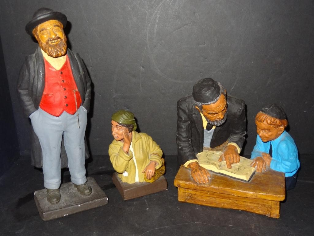 David Kaplan Figurines (3)