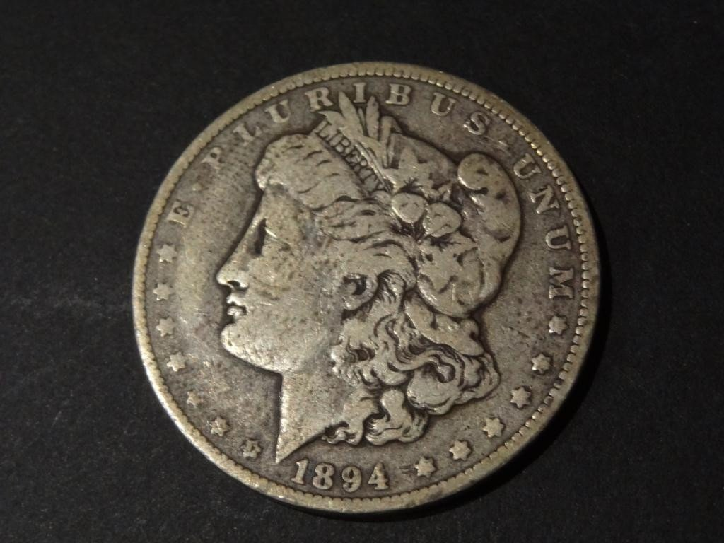 "1894 ""O""   Morgan Silver Dollar"