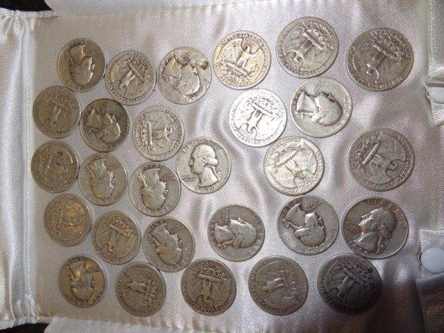14: Quarters: 28 United States Quarters  1947-1959
