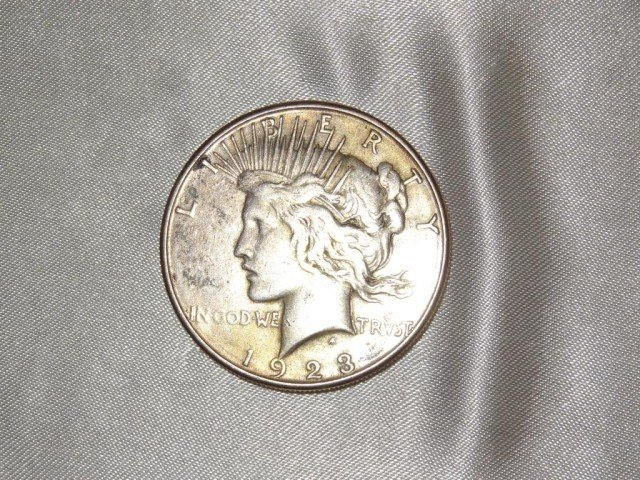 24: Peace Dollar: 1923