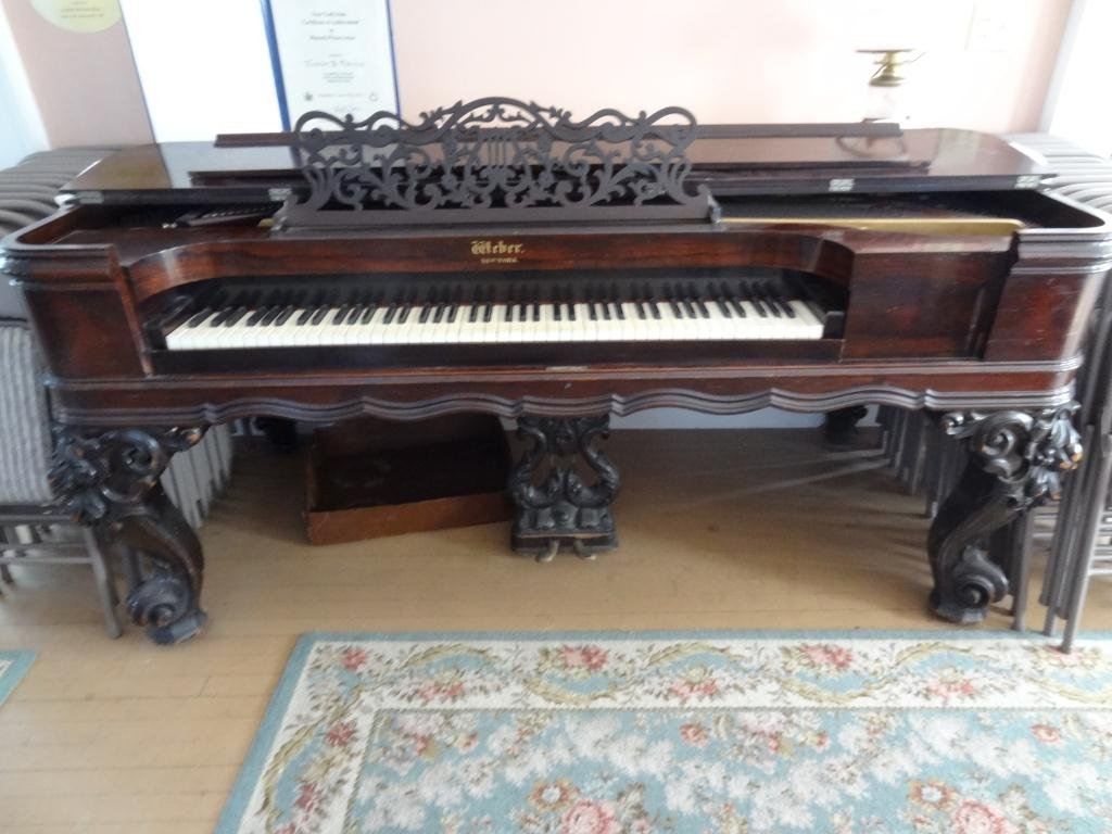 Weber Rosewood  Square Grand Piano 88 Keys -Serial 4295