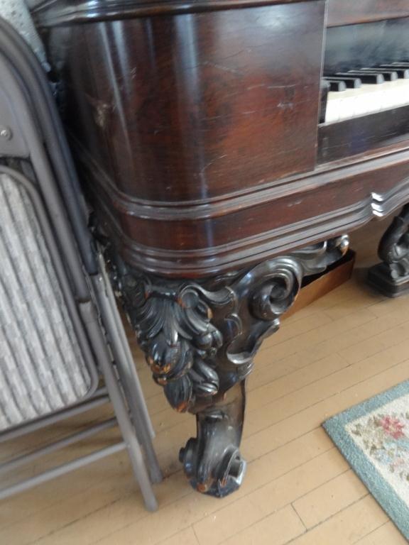 Weber Rosewood  Square Grand Piano 88 Keys -Serial 4295 - 2