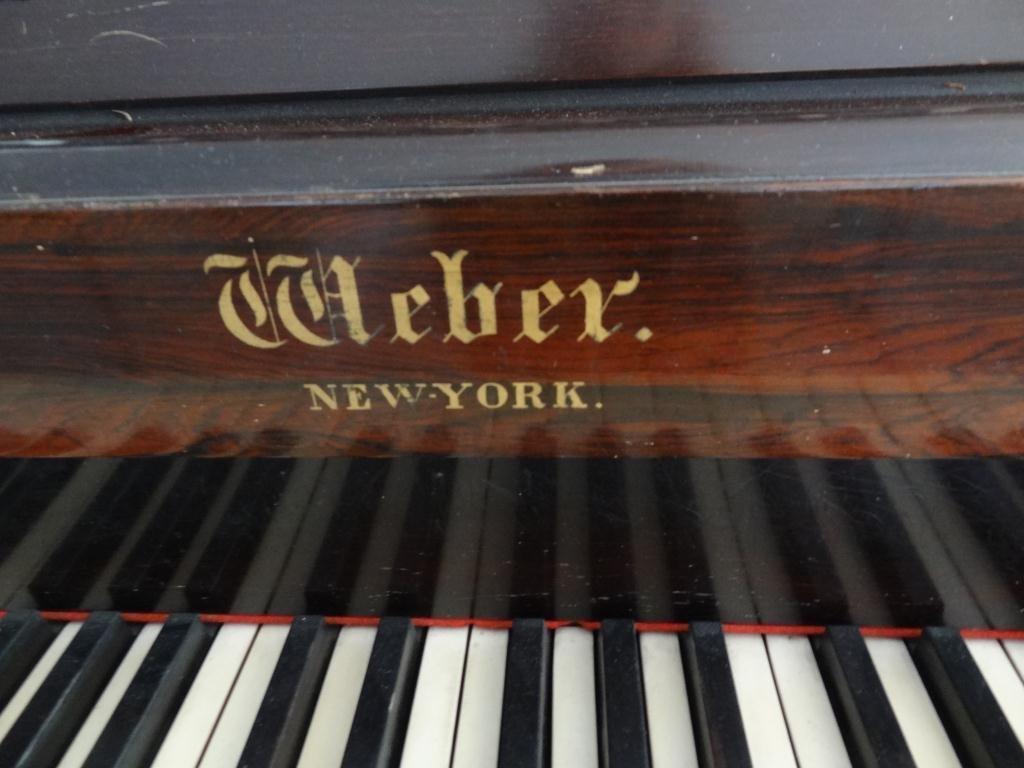 Weber Rosewood  Square Grand Piano 88 Keys -Serial 4295 - 3