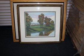 "Vaslin-Stenfort, Christian  ""Autumn River Edge"""