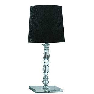 Alfonso Fontal: Claudia 20 Black Table Lamp