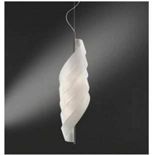 Valery Bouvier: Gilda 1C White Suspension Light