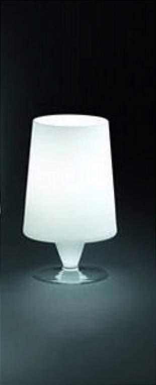 B. Loft: Sofia 10 White Small Table Lamp