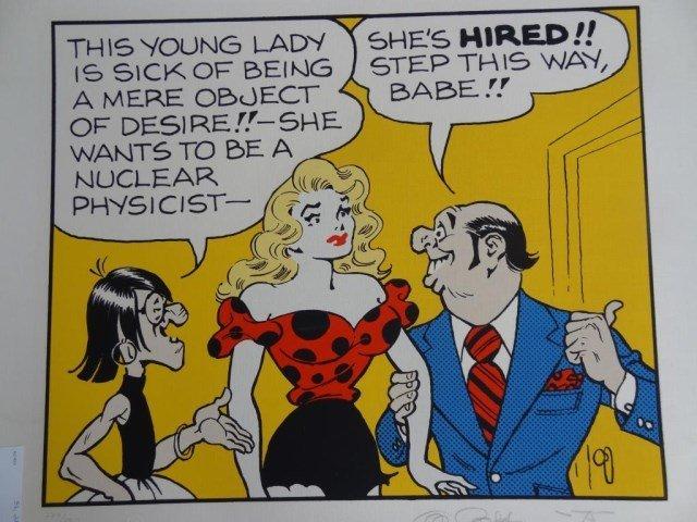 """Al Capp """"Nuclear Physicist"""""""