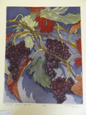 """Anne Belor """"Vineyard I Cabernet Savignon"""""""