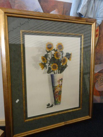 "Rick Loudermilk ""Oriental Sunflower""  49/500"