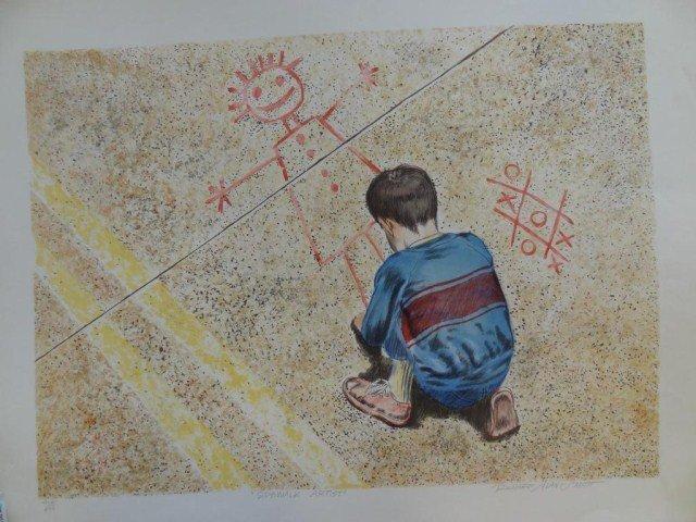 "Richard Alan Smith  ""Sidewalk Artist"""