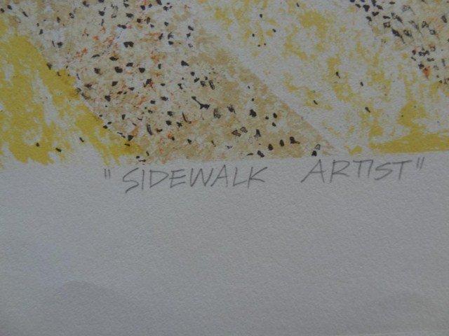 "Richard Alan Smith  ""Sidewalk Artist"" - 3"