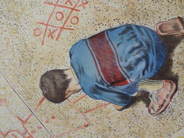 "Richard Alan Smith  ""Sidewalk Artist"" - 5"