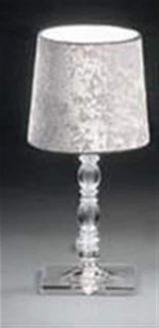 Alfonso Fontal: Claudia 20 White Table Lamp