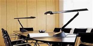 Vico Magistretti: Lester 220 Black Table Lamp