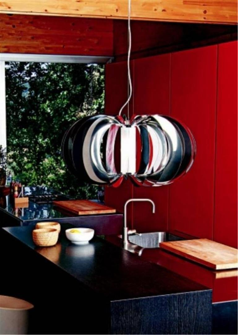 Marco Pagnoncelli  Zucca 60 Steel Hanging Lamp
