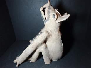 Pre-Columbian Howling Canine Remojadas, Veracruz
