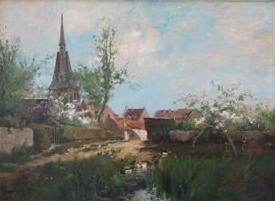 Charles Francois Daubigny Original French Impressionist