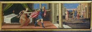 "School of Bonifazio de Pitati ""Story of Joseph"""