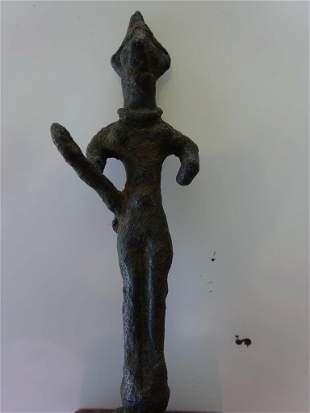 Syrian Bronze Statue 1500-1200 BC