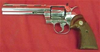 283: Colt Python 357 Model Serial #E62461 Revolver, .35