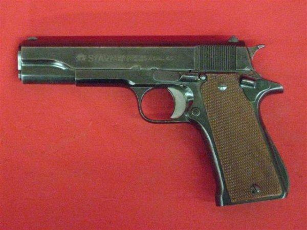 294: Star Model P Serial #1155980 Pistol, .45 ACP cal.,