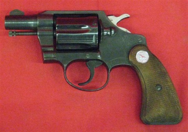 295: Colt Detective Special Model Serial #885914 Revolv