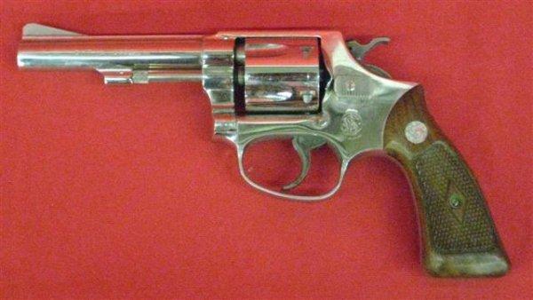 296: Smith & Wesson Model 33 Serial #89468 Revolver, .3