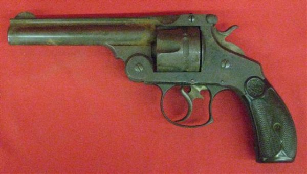 298: Smith & Wesson 1st Double Action Model Serial #284
