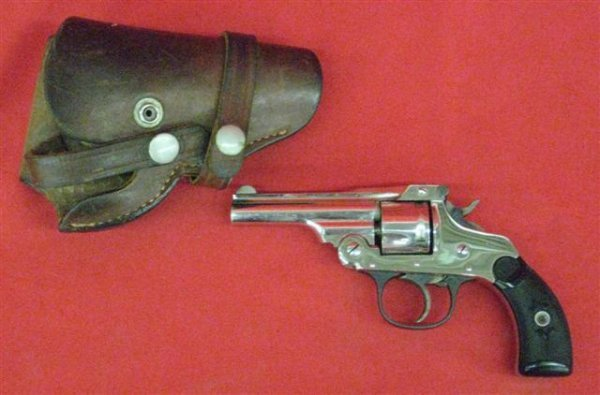 299: Hopkins & Allen Serial #A7428 Revolver, .32 cal.,