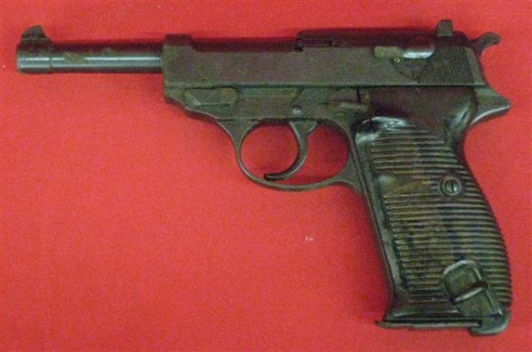 300: Walther Model P-38 Serial #726 Pistol, 9mm, WWII E
