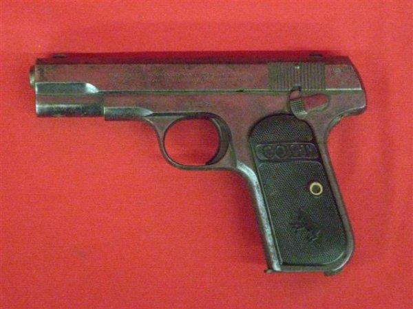 301: Colt Model 1903 Pocket Hammerless Serial #411279 P