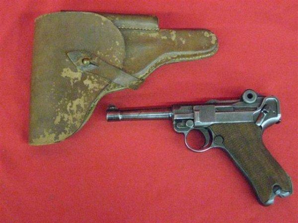 302: DWM Luger, Serial #1771 Pistol, 9mm, Model Not Fou