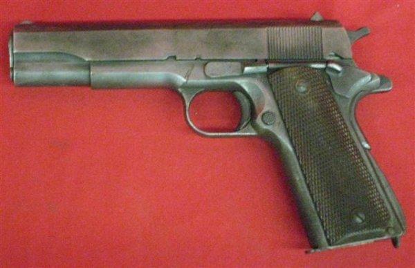 304: Ithaca Model M1911-A1 Serial #876633 Pistol, .45 c