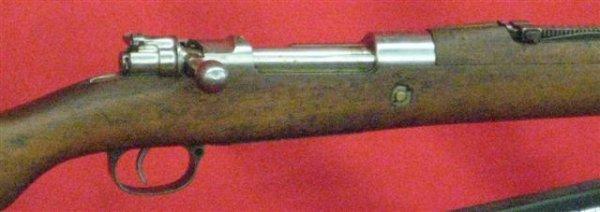 374: Steyr Mauser Model 1912 Serial #A3722 Rifle, 7mm,