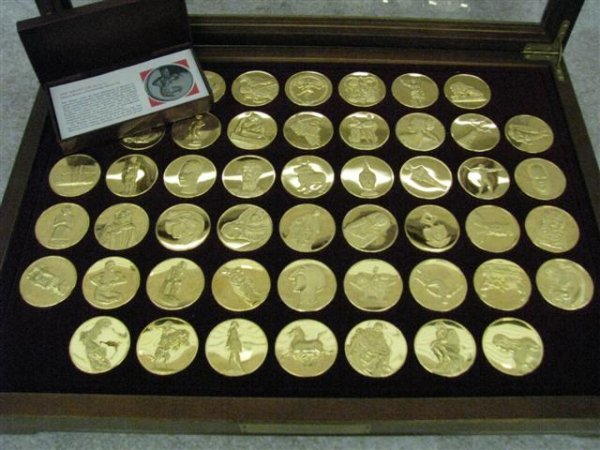 16: Commemorative Tokens, 50, Commemoratives of Famous