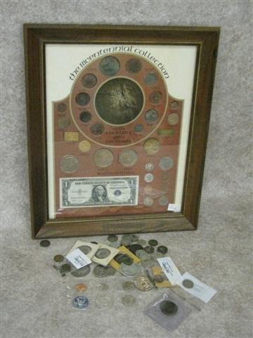 18: Coins, Estate Collection, U.S., Incl. Selection of